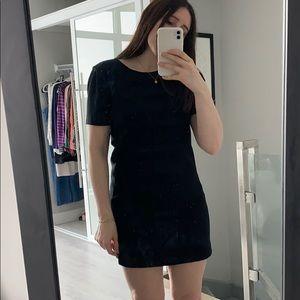 Black Aritzia dress
